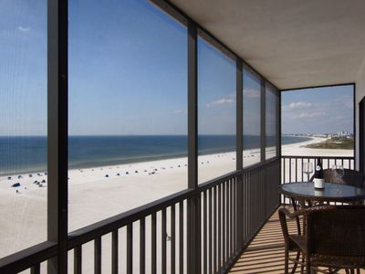 Photo for 25% OFF MAY 1-NOV 13 2020  Beautiful 10TH Floor, Gulf-front Unit at Island Winds PERFECT FOR FAMILIES! Washer and Dryer in Unit, Designated Parking, Central Air, Free WIFI - Click for reviews!