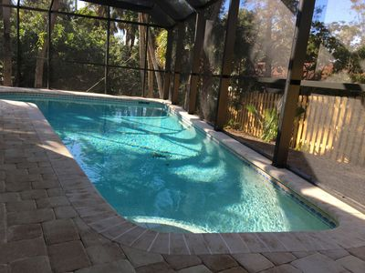 Photo for 50% off if displaced by Hurricane Dorian through 1PRIVATE HOUSE WITH HEATED POOL