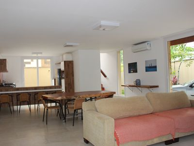 Photo for New high standard house in a gated community 150 meters from the beach Barra do Una