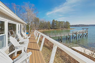 Deck - Welcome to Boothbay! This home is professionally managed by TurnKey Vacation Rentals.