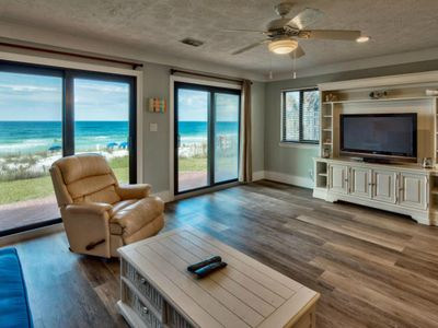 Photo for DIRECTLY GULFRONT,1ST FLOOR WALKOUT, UPDATED ,SUNSET VIEW CLICK ON LISTING 4 IN