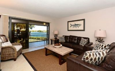 Photo for Chinaberry 924 - 2 Bedroom Condo with Private Beach with lounge chairs & umbrella provided, 2 Pools, Fitness Center and Tennis Courts.