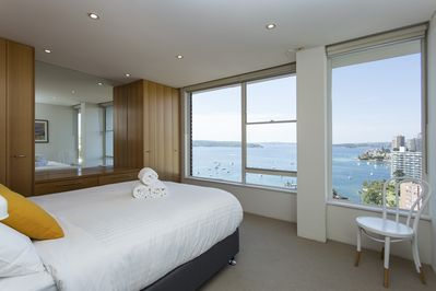 Master bedroom - Just look at those views!