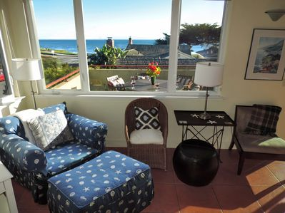Oceanview from the living room too!