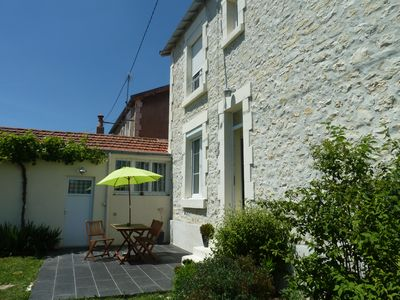 Photo for Quietude, La Rochelle house with garden and garage