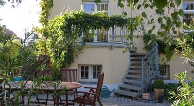 Photo for Leipzig:beautiful historic villa and garden, 2-10 persons family friendly