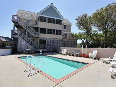 Photo for Comfortable inside and out, close to 4x4 beach access w/Pool&HotTub, PetFriendly