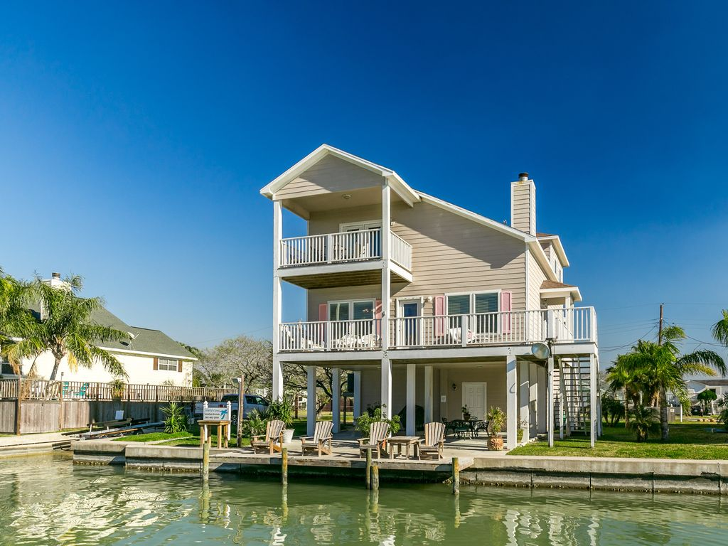 Texas Beach Rental With Private Pool