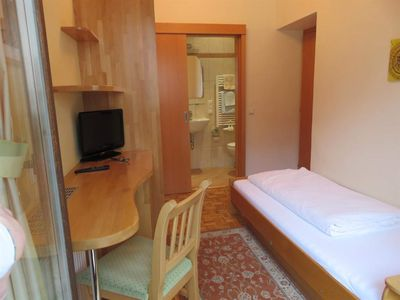 Photo for Single room with shower, WC - Gasthof Fleischerei Engl