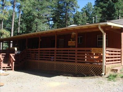 Photo for Beautiful Cabin in Ruidoso's Upper Canyon
