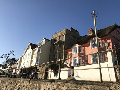 Photo for Stunning Seafront Grade II Listed Arts and Crafts House in Lyme Regis