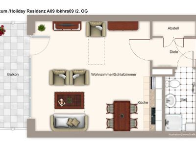 Photo for bkhra09 Holiday Residence A09 - Holiday Residence A09
