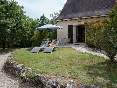 Photo for Gîtes with swimming pool heated all year round and covered near Sarlat