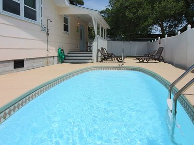 Photo for Everything you Need! Fantastic reviews! Golf Cart, Pool, Boardwalk, Water& Ocean