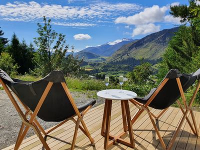 Photo for Visit our Chalet in the woods with amazing views of rural Queenstown