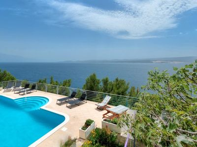 Photo for 343 m from the center of Lokva Rogoznica with Internet, Pool, Air conditioning, Parking (747117)