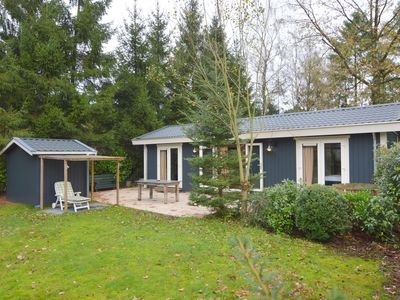 Photo for Highly atmospheric and top quality chalet with private garden close to the Veluwe
