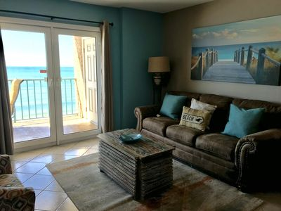Photo for Amazing gulf-front view | New to program | Ask about free fun!