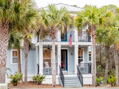 Photo for Sixteen Sandals, 30A Cottages, Reduced Spring Rates, Huge Patio, Multiple Porches, 4 Bikes!