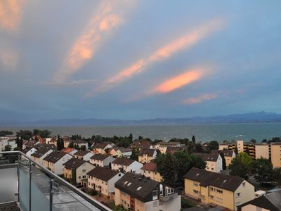 "Photo for Penthouse Apartment ""Attika Süd"" with a view over Lake Constance"