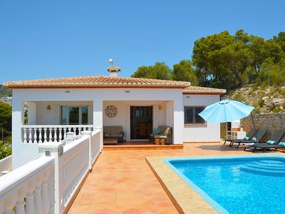 Photo for Beautiful villa just 500 meters from the beach