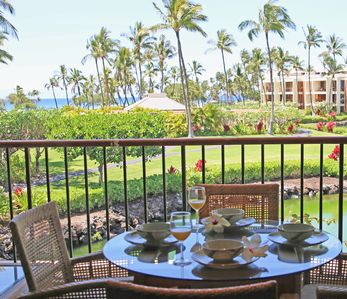 Photo for Upgraded 1 Bdrm condo at the Exclusive Mauna Lani Terrace, Steps From the Beach!