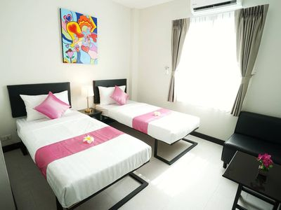 Photo for Sabai Twin Bed with ABF near Don Muang Airport