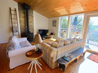 Photo for The Perch: South facing waterfront Cottage located between Toronto and Ottawa
