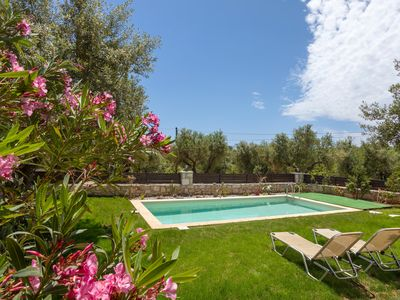Photo for 2 bedroom stone house with private pool, terrace, yard & bbq