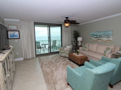 Photo for Perdido Towers East 403- Beach Front View from Terrace and Updated Interior!