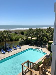 Photo for Newly RENOVATED Oceanfront 4BR Condo in the Heart of IOP-1140 Ocean Blvd