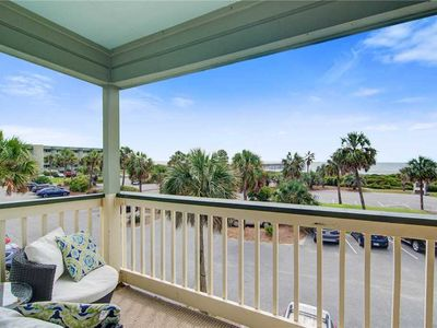 Photo for 232 Sea Cabin - Ocean View Isle of Palms Condo. Great Views w/ Pool & Fishing Pier Access!