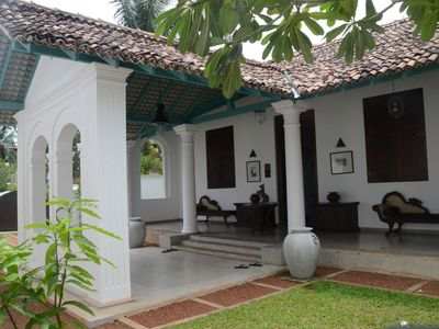 Photo for Villa Walawua is located in Galle A bungalow is a luxury