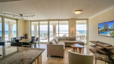 Photo for Beach Club 4B Condo - Located Directly on the Gulf of Mexico