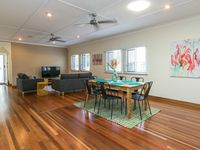 Great open plan spaces and cooling system