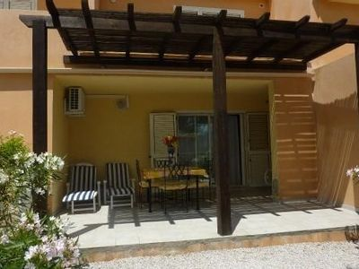 Photo for Beautiful 2-room ground floor, 42sqm, air conditioning, garden, 4 people + 1bébé, Calvi, Corsica