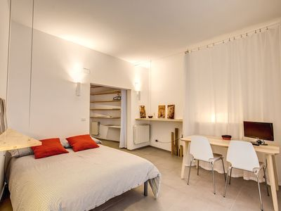 Photo for Luminous open space  in the heart of Trastevere at walking distance to the Vatican and Campo de Fior