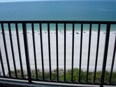 Photo for Beautiful Marco Island Beachfront Condo overlooking Gulf of Mexico