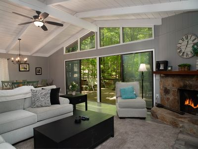 Photo for Relax in Style, all new furniture, walk to clubhouse, big deck