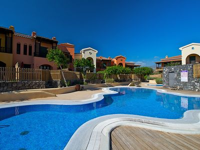 Photo for Luxury&relax villa in Golf Del Sur with garden&pool&garage