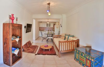 Photo for Nice holiday apartment for 3 persons in a great location, Kas, Antalya, Turkey