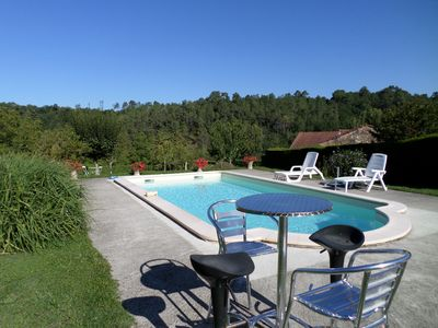 Photo for HOUSE PERIGOURDINE WITH PRIVATE SWIMMING POOL AND PARK