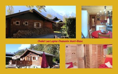 Photo for chalet with garden and parking lot in front of Mont-Blanc