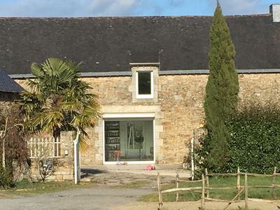 Photo for Spacious longhouse Morbihan 15 minutes from Sarzeau, 15 adults + 2 babies