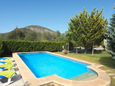 Photo for Finca in Idyllic Location with Terrace, Pool and Wi-Fi