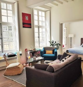 Photo for Large quiet and cozy 2 room apartment in the Haut Marais