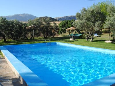 Photo for Quiet Andalusian country house just outside La Higuera.