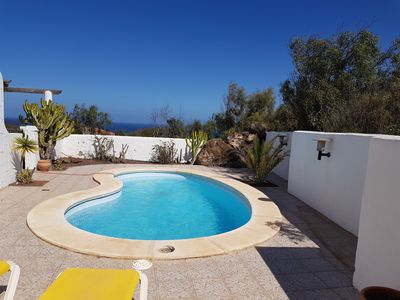 Photo for Villa with sea view and pool