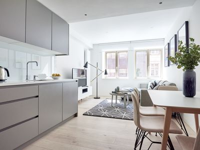 Photo for Contemporary 1BR in Oxford Circus by Sonder