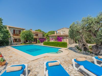 Photo for Mastaguera Mallorcan style villa with pool and spectacular views